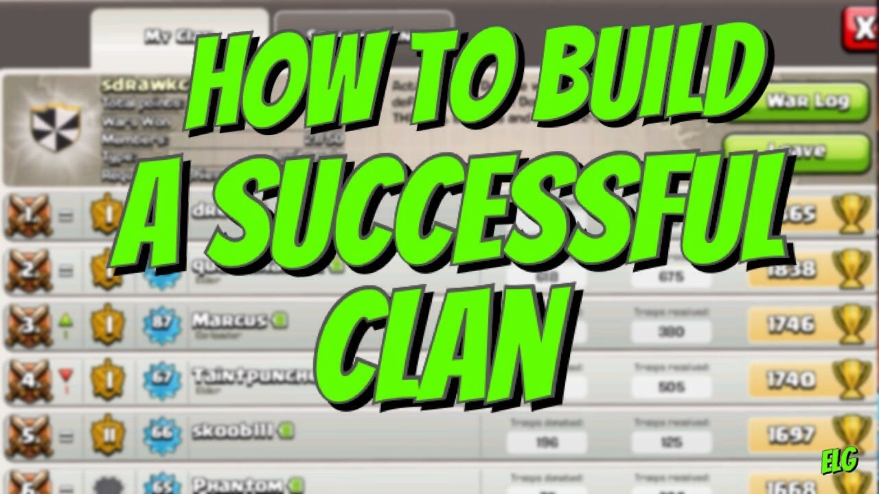 how to search a clan in clash of clans