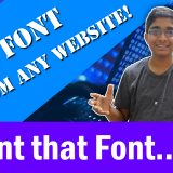 Rip Font from any website