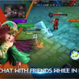 Voice Chat with Friend in Arena of Valour